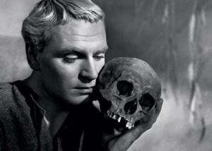 Olivier as Hamlet